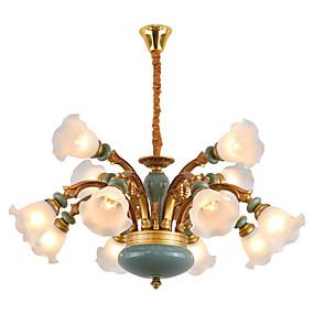 povoljno Lámpatestek-ZHISHU Podignuti Lusteri Downlight Legura cinka Metal Glass 110-120V / 220-240V Meleg fehér / Bijela