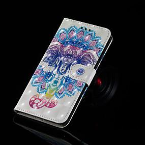 povoljno Maske za mobitele-Θήκη Za Samsung Galaxy J7 Prime / J7 (2017) / J7 (2016) Novčanik / Utor za kartice / sa stalkom Korice Slon Tvrdo PU koža