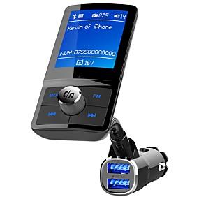 preiswerte Auto Elektronik-YuanYuanBenBen Bluetooth 4.2 Bluetooth Auto Ausrüstung Auto Freisprecheinrichtung Bluetooth / QC 3.0 / MP3 Auto