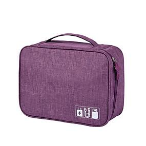 preiswerte Up to 70% off for fashion bags-Wasserdicht Polyester Reißverschluss Handgepäck Alltag Grau / Purpur / Himmelblau