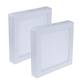 cheap LED Recessed Lights-2pcs 24 W 1920 lm 120 LED Beads Easy Install LED Panel Lights Warm White Cold White 85-265 V