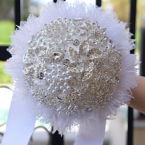 economico Bouquet sposa-Bouquet sposa Bouquet Ricevimento di matrimonio Schiuma 21-30 cm