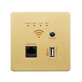 preiswerte Intelligentes Zuhause-Steckdose Leichte Bedienung / mit USB-Anschlüssen 1pc ABS Wand befestigend WLAN-fähig