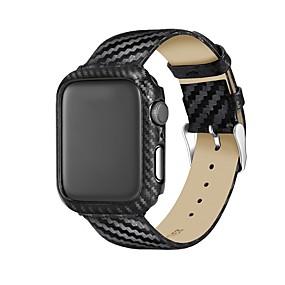 preiswerte Smartwatch-Fall-Hülle Für Apple Apple Watch Series 4 Echtleder / Kunststoff Apple