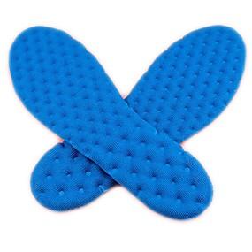 preiswerte Wandergeschäft-1 Paar Federung Einlegesohlen & Einlagen Silica Gel Sohle Frühling Unisex Weiß / Blau