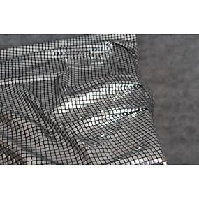 billige Sying og håndarbeid-Paljetter Ensfarget Uelastisk 95 cm bredde stoff til Klær og mote selges ved 0.5m