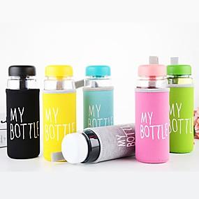 preiswerte Haus & Garten-500ml-Wasserflaschen für wasserfesten wasserdichten Farbreisesport