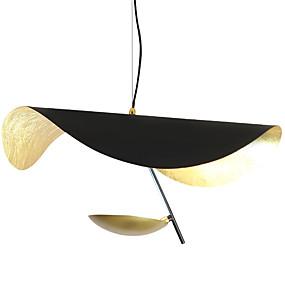 povoljno Viseća rasvjeta-Noviteti Privjesak Svjetla Ambient Light Antique Brass Slikano završi Metal New Design 110-120V / 220-240V Meleg fehér / Bijela