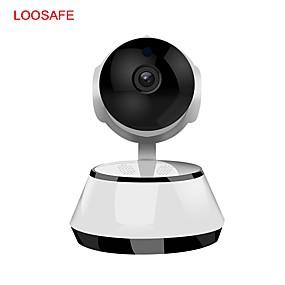 preiswerte Innen IP-Netzwerk Kameras-LOOSAFE F2-720 1 mp IP-Kamera Innen Unterstützung / Kabellos / Kugelform / Primzahl / Plug-and-Play
