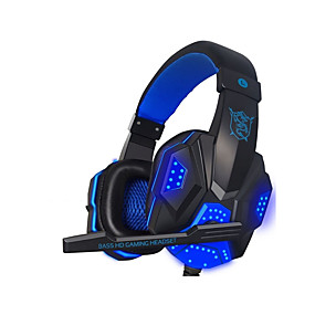 cheap Computer & Office-LITBest PC780 LED Lights Gaming Headset Stereo Surround Sound Noise Cancelling Wired Gamer Headphones PUBG LOL DOTA Gamer Earphone With Mic Auriculares for PC
