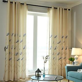preiswerte Fensterdekoration-Moderne Verdunkelung Ein Panel Vorhang Wohnzimmer   Curtains
