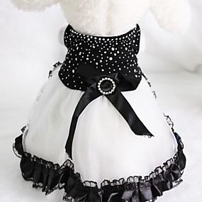 povoljno Praktični poklončići-Vjenčanje / Birthday Party Rastezljivi saten Odjeća za psa Vjenčanica od pasa suknja - 1 pcs