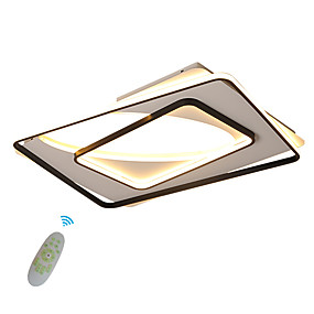 cheap Ceiling Lights & Fans-1-Light Ecolight 65 cm Creative LED Flush Mount Lights Metal Silica gel Cluster Geometrical Novelty Painted Finishes Contemporary LED 110-120V 220-240V
