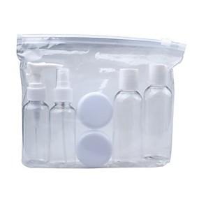 cheap Travel Security-6pc/set Portable Transparent Travel Cosmetic Bottle Points Bottling