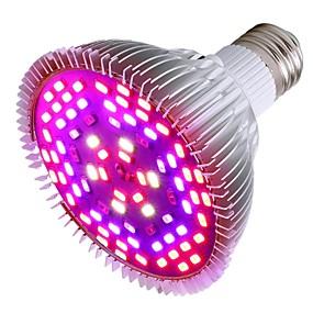 preiswerte LED-Lichter-1pc 50 W Wachsende Glühbirne 1200 lm E26 / E27 78 LED-Perlen SMD 5730 Dekorativ Mehrere Farben 85-265 V