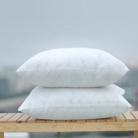 cheap Slipcovers-1 Pc Polyester Nonwovens Pillow Insert, Textured Fashion Modern Throw Pillow