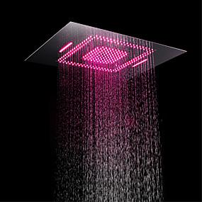 preiswerte Duschköpfe-Moderne Regendusche Chrom Eigenschaft - LED / Dusche, Duschkopf