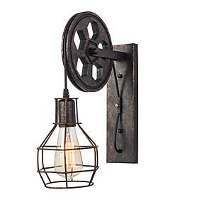 preiswerte Beleuchtung-OYLYW Ministil / Niedlich Einfach / Retro / Vintage Wandlampen Wohnzimmer / Korridor Metall Wandleuchte 110-120V / 220-240V 60 W