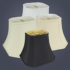 preiswerte LED-Gadgets-Einfach / Moderne zeitgenössische Mehrere Lampenschirme / Augenschutz Lampenschirm Für Wohnzimmer / Studierzimmer / Büro Schwarz / Orange / Gelb