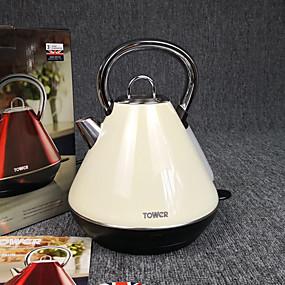 preiswerte Elektrische Wasserkocher-LITBest Wasserkocher Edelstahl Elfenbein