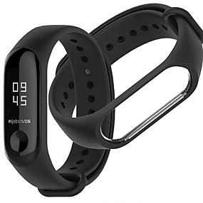 cheap Smartwatch Bands-Watch Band for Mi Band 3 Xiaomi Sport Band Silicone Wrist Strap