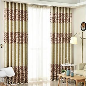 preiswerte Verdunkelungsvorhänge-Moderne Verdunkelung Ein Panel Vorhang Wohnzimmer   Curtains