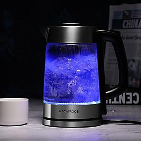 preiswerte Elektrische Wasserkocher-LITBest Wasserkocher MC-3051 Edelstahl Schwarz