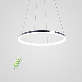 povoljno Viseća rasvjeta-Cirkularno Privjesak Svjetla Ambient Light Others Metal Acrylic LED 110-120V / 220-240V Meleg fehér / Bijela / Zatamnjen daljinskim upravljačem Uključen je LED izvor svjetlosti / FCC