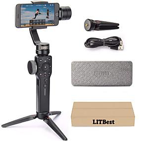 preiswerte Audio & Video für Ihr Zuhause-Zhiyun glatte 4 3-Achsen-Handheld-Gimbal tragbare Stabilisator Kamera Halterung für Smartphone iphone Aktion Kamera