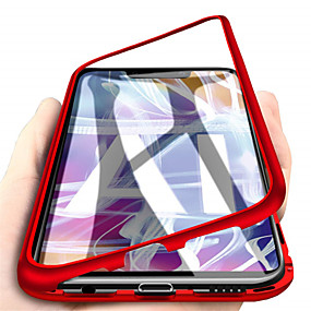 povoljno Maske za mobitele-Θήκη Za Huawei Huawei Mate 20 lite / Huawei Mate 20 pro / Huawei Mate 20 S magnetom Korice Jednobojni Tvrdo Kaljeno staklo