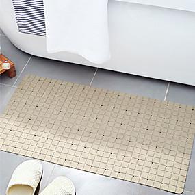 levne Podložky a koberečky-1ks Na běžné nošení / Země Koupelnové podložky PVC S proužky Neskluzový