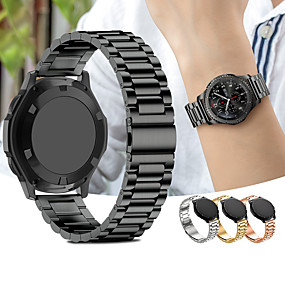 cheap Smartwatch Bands-Watch Band for Gear S3 Frontier / Gear S3 Classic Samsung Galaxy Sport Band / Classic Buckle Metal / Stainless Steel Wrist Strap