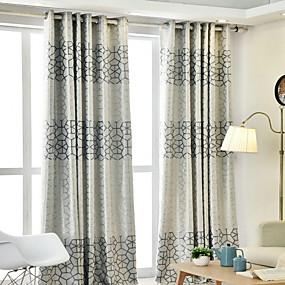 preiswerte Vorhänge und Gardinen-Moderne Verdunkelung Ein Panel Vorhang Wohnzimmer   Curtains