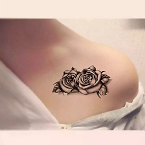 cheap Tattoo Stickers-10 pcs Temporary Tattoos Water Resistant Hand / brachium / Shoulder Tattoo Stickers
