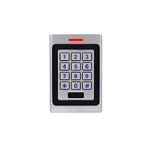 preiswerte Zutrittskontroll- und Zeiterfassungssysteme-WMK1-EM Zutrittskontroll-Tastatur Passwort freischalten / RFID freischalten Home / Wohnung / Schule
