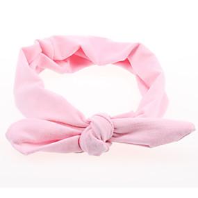 preiswerte Modische Accessories-Baby Mädchen Grundlegend / Süß Solide Druck Acryl Haarzubehör Rosa / Gelb / Fuchsia Einheitsgröße