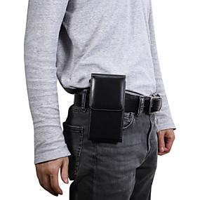 povoljno Maske za mobitele-Θήκη Za Blackberry / Apple / Samsung Galaxy Univerzális Utor za kartice Pederuše Jednobojni Mekano PU koža