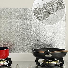preiswerte Küchen Reinigungsbedarf-Küche Reinigungsmittel Plástico PE Öl-feste Aufkleber Wasserfest Anti-Flecken Behandelt Schutz 1pc