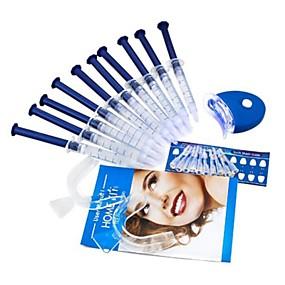 cheap Oral Hygiene-Teeth Whitening Kit Bleaching System Bright White Smiles Teeth Whitening Gel Kit With LED Light Professional