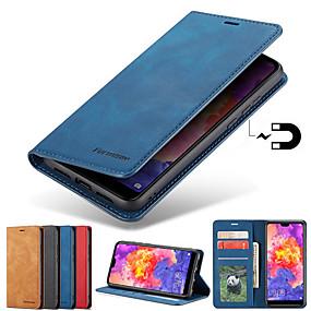 povoljno Maske za mobitele-Θήκη Za Samsung Galaxy S9 / S9 Plus / S8 Plus Utor za kartice / sa stalkom / S magnetom Korice Jednobojni Tvrdo PU koža