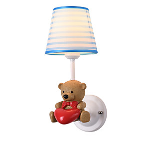 povoljno Lámpatestek-Ecolight Djecu / Slatko Jednostavan / Suvremena suvremena Zidne svjetiljke Dječaci Soba / Dječja soba Metal zidna svjetiljka 110-120V / 220-240V 60 W