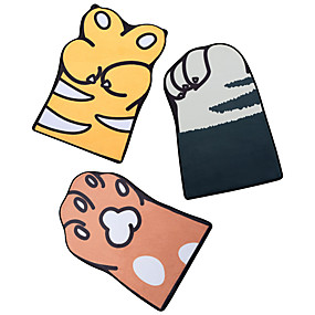 voordelige Matten & Tapijten-1pc Cartoon Badmatten / Badtapijten Coral Velve Nieuwigheid / dier Schattig / Anti-slip / verdikking