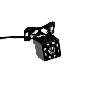 preiswerte Auto Rückfahrkamera-BYNCG rear view camera 480TVL 480 TV-Lines 1/4 Zoll CMOS OV7950 Mit Kabel 90 Grad 3.5-12 Zoll Rückfahrkamera Wasserfest / LED-Anzeige für Auto