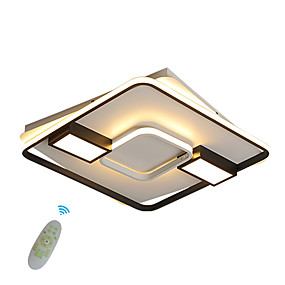 cheap Dimmable Ceiling Lights-1-Light 59 cm Creative LED Flush Mount Lights Metal Silica gel Geometrical Novelty Painted Finishes Contemporary LED 110-120V 220-240V