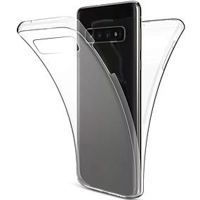 povoljno Maske za mobitele-Θήκη Za Samsung Galaxy S9 / S9 Plus / S8 Plus Otporno na trešnju / Ultra tanko / Prozirno Korice Jednobojni Mekano TPU