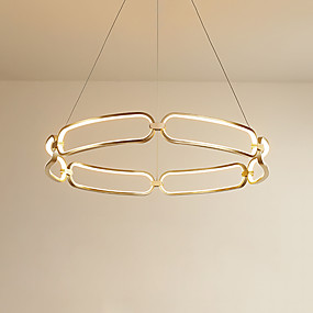 povoljno Lámpatestek-CONTRACTED LED® sputnjik / Fenjer / Noviteti Lusteri Ambient Light Brushed Aluminij Kreativan, New Design 110-120V / 220-240V Meleg fehér / Bijela