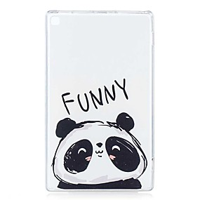 cheap Other Case-Case For Amazon Kindle Fire hd 8(7th Generation, 2017 Release) / Kindle Fire hd 8(6th Generation, 2016 Release) / Kindle Fire hd 8(5th Generation, 2015 Release) Pattern Back Cover Panda Soft TPU