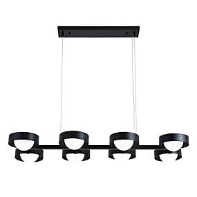 povoljno Stropna svjetla i ventilatori-ZHISHU 8-Light Glob / Geometrijski Lusteri Downlight Electroplated Metal Glass 110-120V / 220-240V Meleg fehér / Bijela