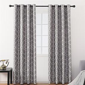 preiswerte Vorhänge und Gardinen-Moderne Verdunkelung Ein Panel Vorhang Wohnzimmer   Curtains / Jacquard