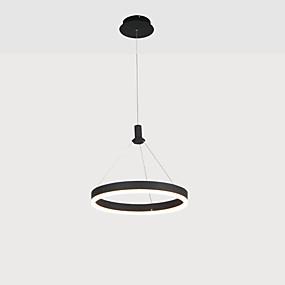 povoljno Lámpatestek-KAKAXI Cirkularno Lusteri Downlight Anodized Aluminij Acrylic Višebojno sjenilo, Prilagodljiv 110-120V / 220-240V Meleg fehér / Hladno bijela / Zatamnjen daljinskim upravljačem